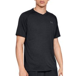 Under Armour Mens UA Tech V-Neck Raglan T-Shirt