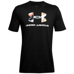 Under Armour Mens UA Sportstyle Logo Upstream Camo T-Shirt