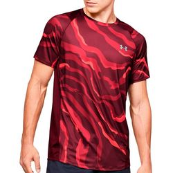 Under Armour Mens UA MK-1 Printed Short Sleeve T-Shirt