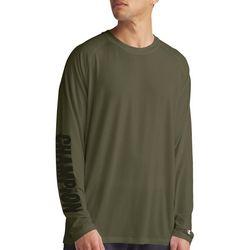 Champion Mens City Long Sleeve Logo T-Shirt