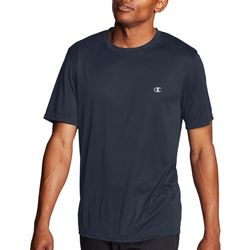 Champion Mens Double Dry Small Chest Logo T-Shirt
