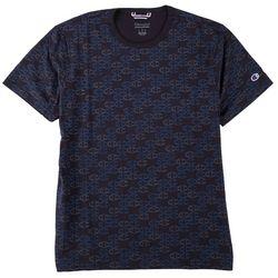 Champion Mens Short Sleeve All Over C Logo T-Shirt