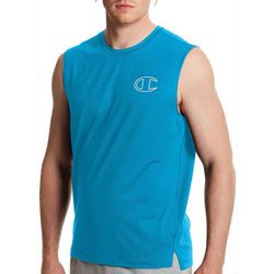 Champion Mens Solid Muscle Sport Tee