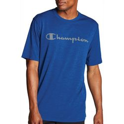 Champion Mens Double Dry Logo Short Sleeve T-Shirt