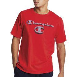 Champion Mens C Mania Logo Graphic T-Shirt