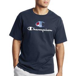 Champion Mens Classic Split Logo T-Shirt