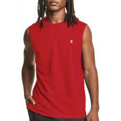 Champion Mens Double Dry  Logo Muscle Tank