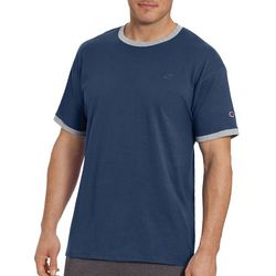 Champion Mens Classic Jersey Ringer T-Shirt