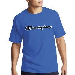 Mens Jersey Script Logo T-Shirt