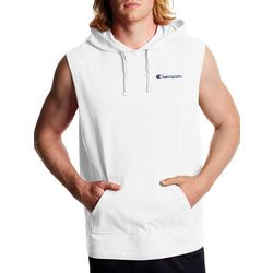 Champion Mens Solid Sleeveless Hoodie