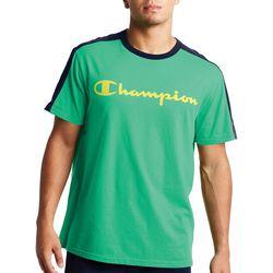 Champion Mens Sportstyle Colorblocked Short Sleeve T-Shirt