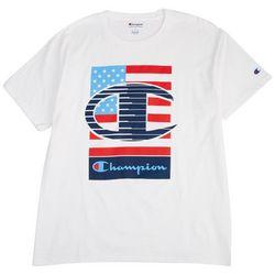 Champion Mens Olympics Graphic Logo T-Shirt