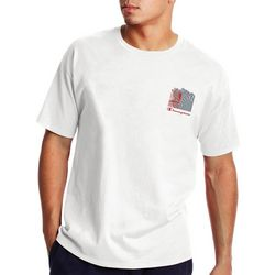 Champion Mens Fingerprint Graphic Crew Neck T-Shirt
