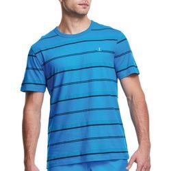 Champion Mens Striped Casual T-Shirt