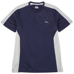Fila Mens Performance Dri Crew Neck Short Sleeve