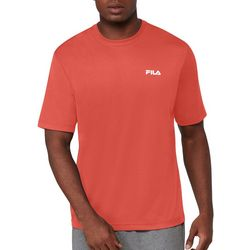 Fila Mens Logo Short Sleeve T-Shirt