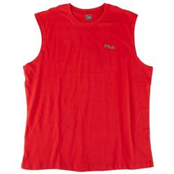 Mens Solid Cotton Tank Top