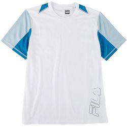 Fila Mens Hazma Crew Training Short Sleeve T-Shirt