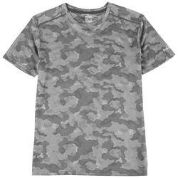 Spalding Mens Camoflage Performance T-Shirt