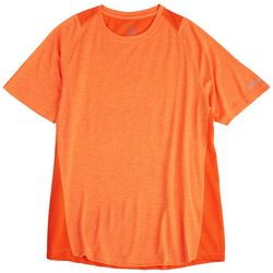 Spalding Mens Heathered Colorblock Athletic T-Shirt