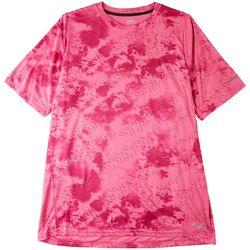 Spalding Mens Tie Dye Performance T-Shirt