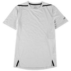 Spalding Mens Short Sleeve Heather Mesh T-Shirt