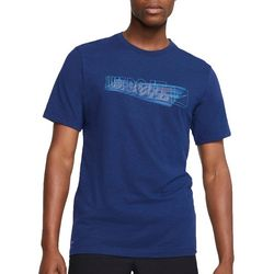 Nike Mens Slub Solid Short Sleeve T-Shirt
