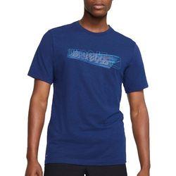 Nike Mens Slub Solid Short Sleeve T-Shirt