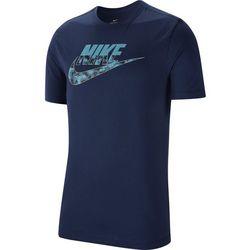 Nike Mens Swoosh Camo Logo Short Sleeve T-Shirt