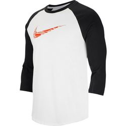 Nike Mens Swoosh Raglan Short Sleeve T-Shirt
