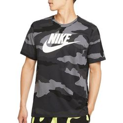 Nike Mens Camo Print Short Sleeve T-Shirt