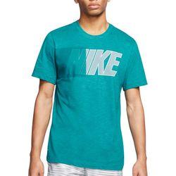 Mens Dri-Fit Graphic Short Sleeve Training T-Shirt
