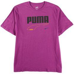 Puma Mens Rebel Solid Crew Neck T-Shirt