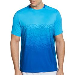 Grand Slam Mens Textured Short Sleeve T-Shirt