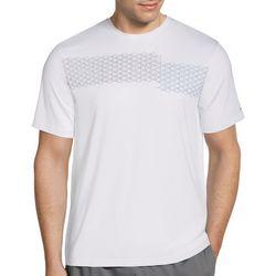 Grand Slam Mens Raquet Print Short Sleeve T-Shirt