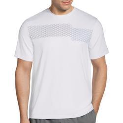 Mens Raquet Print Short Sleeve T-Shirt
