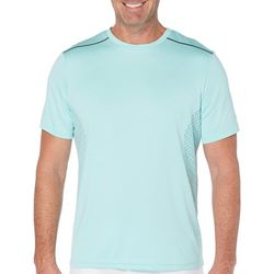 Grand Slam Mens Heathered Short Sleeve T-Shirt