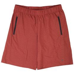 Mens Solid Woven Shorts