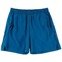 Mens 7 Solid Running Shorts