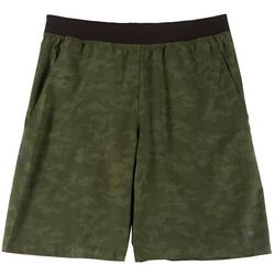 RB3 Active Mens Woven Camo Shorts