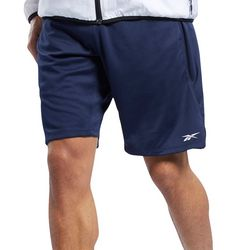 Reebok Mens Speedwick Solid Graphic Shorts
