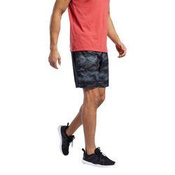 Reebok Mens Workout Ready Graphic Camo Shorts