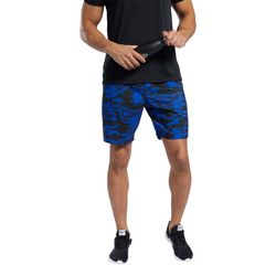 Mens Workout Ready Graphic Camo Shorts