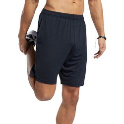 Mens Solid Workout Ready Activechill Shorts
