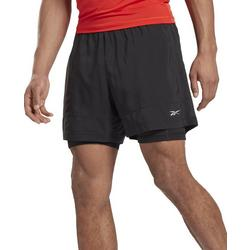 Mens Running Essentials Two-One Shorts