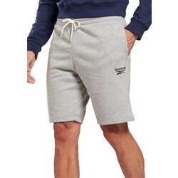 Reebok Mens Indentity Solid Terry Shorts