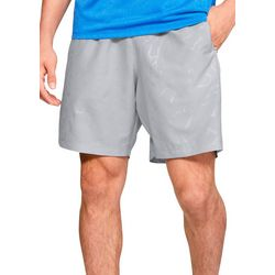 Under Armour Mens UA Graphic Embossed Shorts