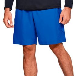 Under Armour Mens Woven UA Logo Graphic Shorts