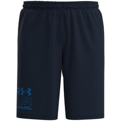 Under Armour Mens Solid Tech Wordmark Graphic Shorts