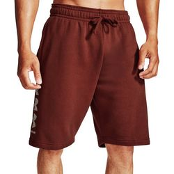 Mens UA Rival Fleece Shorts